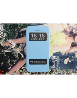 Husa protectie Flip Cover Smart View With Double Windows pentru IPhone 5C